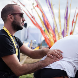 Festival massage