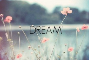 Take time to see clearly and to dream